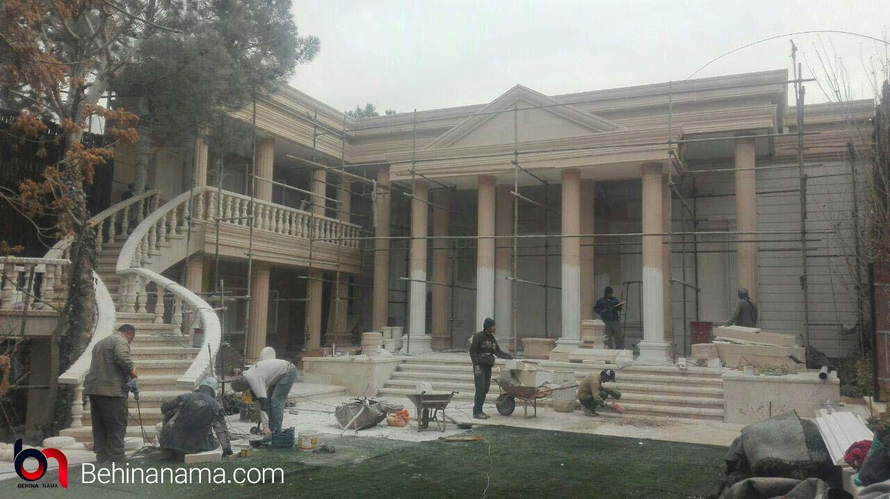 ساخت نمای رومی