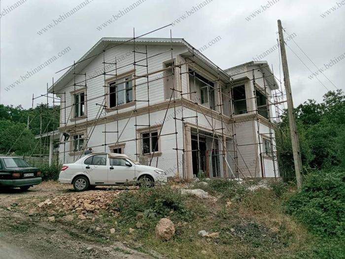 قاب پیش ساخته دور پنجره